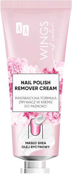 AA WINGS OF COLOR PRECISION NAIL CREAMY REMOVER ZMYWACZ W KREMIE DO PAZNOKCI 30 ML