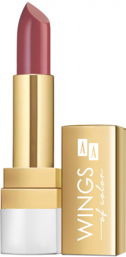 AA WINGS OF COLOR LIPSTICK CREAMY CARE 3,8G  12 FLAMINGO BEACH