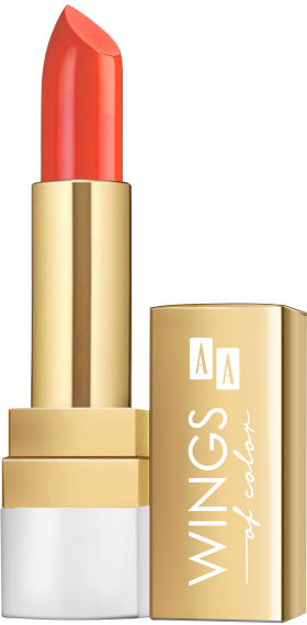 AA WINGS OF COLOR LIPSTICK CREAMY CARE 3,8G  16 CORAL REEF
