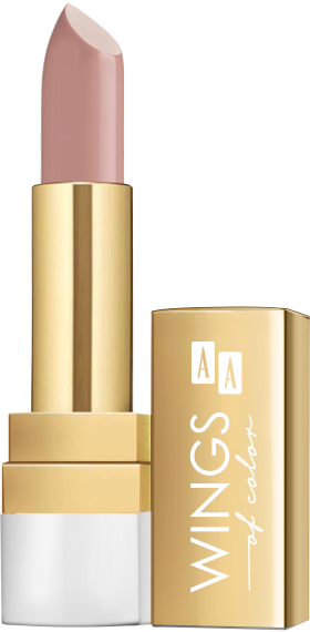 AA WINGS OF COLOR LIPSTICK CREAMY CARE 3,8G  19 LONDON FOG