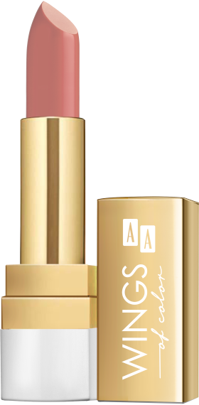 AA WINGS OF COLOR LIPSTICK CREAMY CARE 3,8G  21 INDIAN ROSE