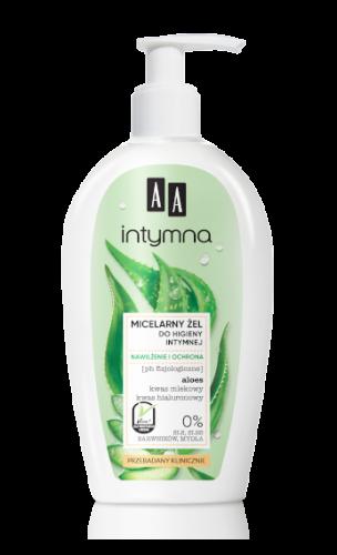 AA INTYMNA MICELARNY ŻEL do higieny intymnej – nawilżenie i ochrona 300 ml