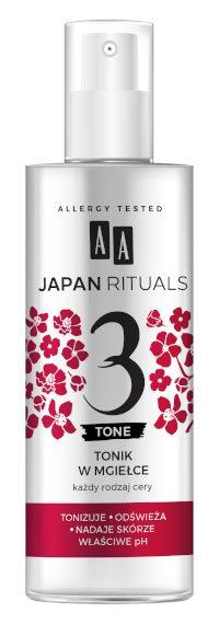 AA JAPAN RITUALS Tonik w mgiełce 200 ml