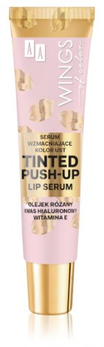 AA WINGS OF COLOR Serum Wzmacniające Kolor Ust Tinted Push-Up Lip Serum 10ml