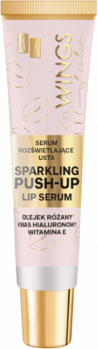 AA WINGS OF COLOR Serum Rozświetlające Usta Sparkling Push-Up Lip Serum 10ml