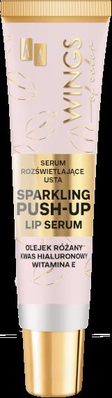 AA WINGS OF COLOR Serum Rozświetlające Usta Sparkling Push-Up Lip Serum 10ml