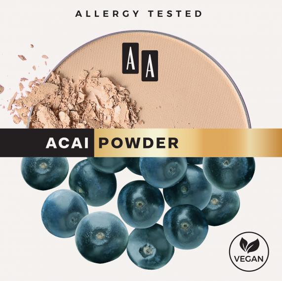 AA Mattifying Powder Matujący puder prasowany Jagody acai 9g