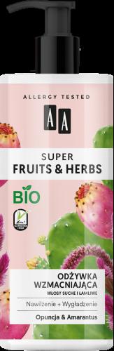 AA SUPER FRUITS&HHERBS odżywka wzmacniająca włosy suche i łamliwe opuncja&amarantus 500 ml, Nr Ref.: 70056