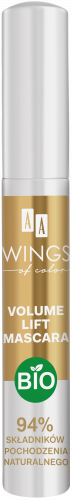AA WINGS OF COLOR Volume Lift Mascara Tusz Do Rzęs Bio 10 ml, Nr Ref.: 70414