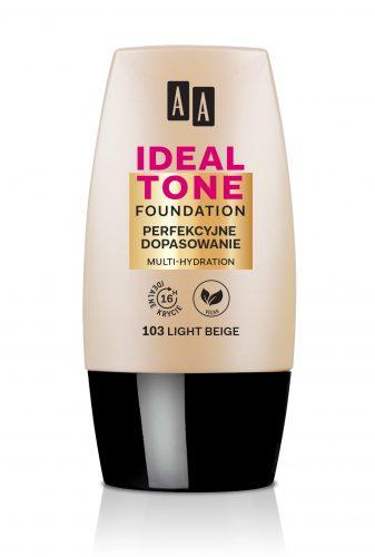 AA IDEAL TONE perfekcyjne dopasowanie 103 light beige 30ml