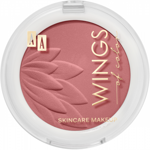 AA WINGS OF COLOR RÓŻ BLUSH&ROUGE 4 LIGHT PINK