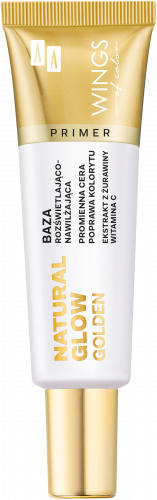 AA WINGS OF COLOR BAZA NATURAL GLOW GOLDEN 30ML