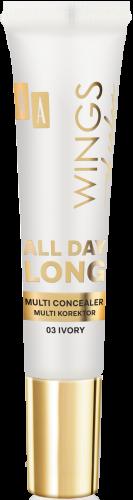 AA WINGS OF COLOR All Day Long Multi Concealer – Multi Korektor 03 Ivory 10 Ml
