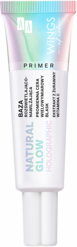 AA WINGS OF COLOR BAZA NATURAL GLOW PRIMER  HOLOGRAPHIC 30ML
