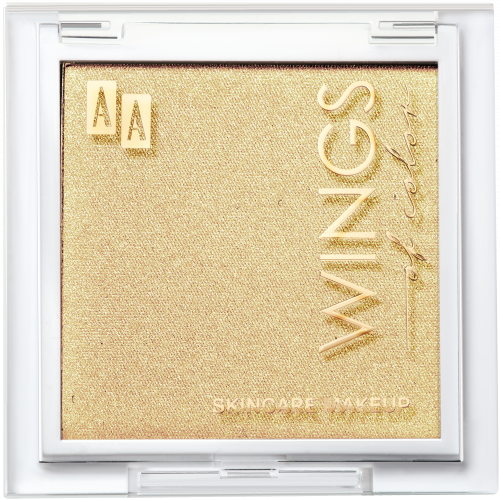 AA WINGS OF COLOR PRECIOUS HIGHLIGHTER POWDER 104 GOLDEN GLOW 8G