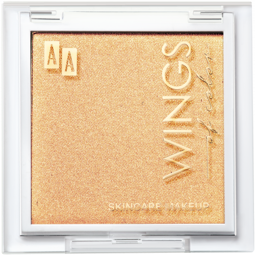 AA WINGS OF COLOR PRECIOUS HIGHLIGHTER POWDER 105 CHAMPAGNE GLOW 8G