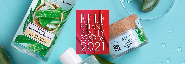 ELLE Beauty Awards 2021 dla Sorbetu AA Aloes!