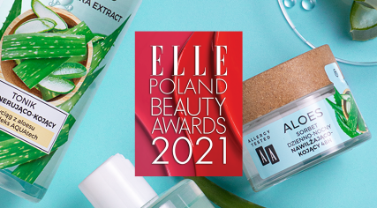 ELLE Beauty Awards 2021 dla Sorbetu AA Aloes!