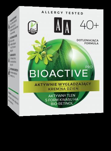 AA BIOACTIVE PRO 40+ krem na dzień aktywnie wygładzający 50 ml