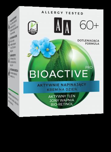 AA BIOACTIVE PRO 60+ krem na dzień aktywnie napinający 50 ml