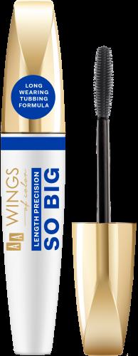 AA WINGS OF COLOR So Big Length Precision Mascara Black 6,5g, Nr Ref.: 76096