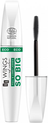 AA WINGS OF COLOR So Big Full&Long Lashes Eco Mascara Natural 6,5g, Nr Ref.: 76645