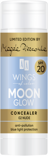 AA WINGS OF COLOR Moon Glow Concealer Spf20 by Magda Pieczonka 02 Nude 20g, Nr Ref.: 76867
