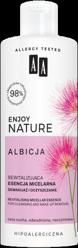 AA ENJOY NATURE rewitalizująca esencja micelarna demakijaż i oczyszczanie 400 ml