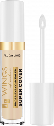 AA WINGS OF COLOR All Day Long Under Eye Concealer Super Cover 10 Ivory 6,2 g