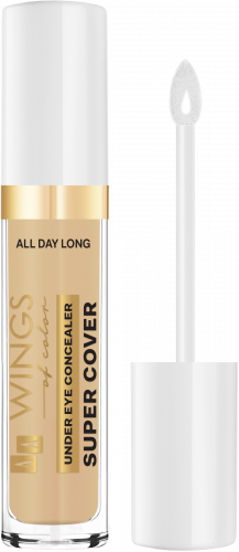 AA WINGS OF COLOR All Day Long Under Eye Concealer Super Cover 12 Sand 6,2 g