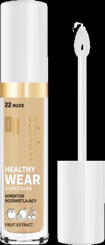 AA WINGS OF COLOR Healthy Wear Concealer Korektor Rozświetlający 22 Nude 6,2g