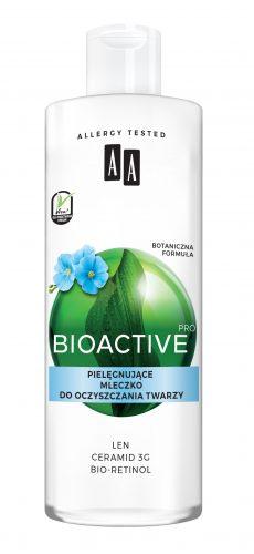AA BIOACTIVE PRO mleczko nawilżające do oczyszczania twarzy 400 ml
