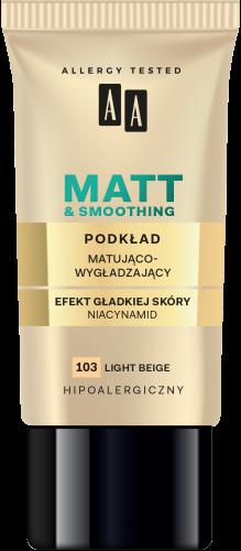 Podkład matująco-wygładzający 103 light beige 30 ml