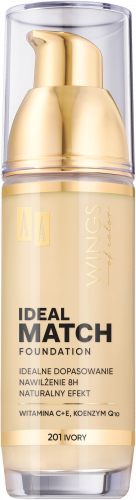 AA WINGS OF COLOR PODKŁAD IDEAL MATCH 201 30ML