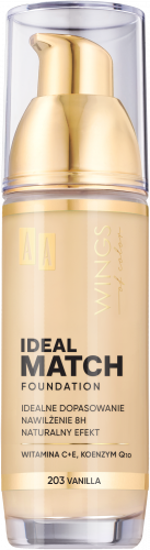 AA WINGS OF COLOR PODKŁAD IDEAL MATCH 203 30ML
