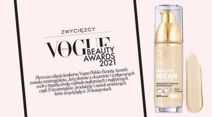 Podkład Healthy Wear laureatem Vougue Beauty Awards 2021!